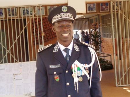 Le nouveau DG de la Police nationale, Lazare Tarpaga (©Burkina24)