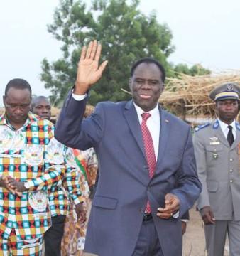 Michel Kafando, président du Faso © Dircom Présidence du Faso