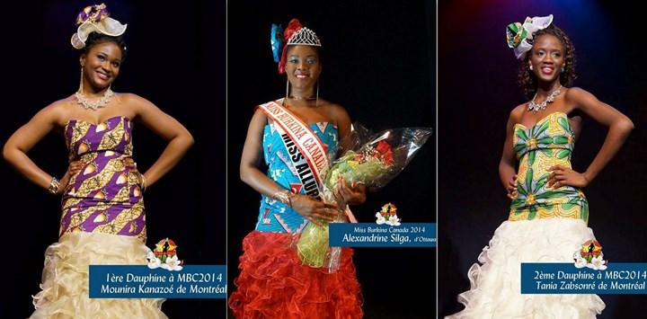 Miss Burkina Canada 2014