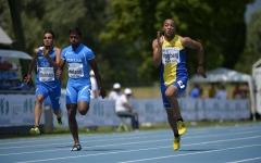 Erik Hagberg, jeune athlète suédois-burkinabè