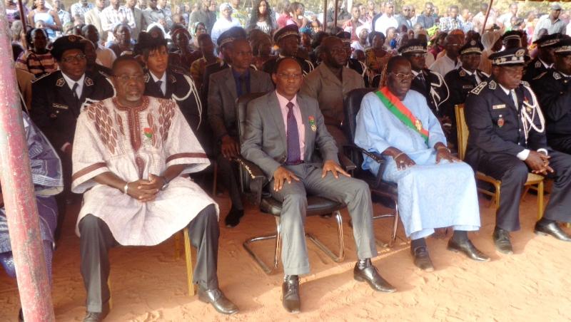 Plusieurs personnalités étaient présentes lors de cette cérémonie de décoration. (©Burkina24)