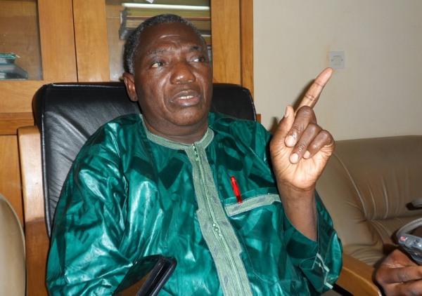El Hadj Boukaré, ex-président de l'OTRAF ©Burkina24
