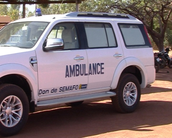 L'ambulance remise