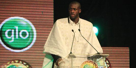 Yaya Touré footballeur africain de l'année