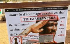 65 ans de Thomas Sankara : Le gouvernement prié de tenir parole