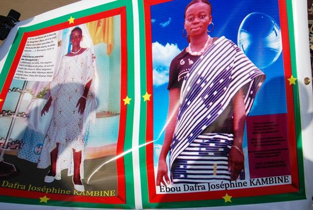 Ebou Dafra Joséphine Kambiné