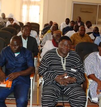 Les membres du SEN de l'ADF/RDA lors d'une session le 31 janvier 2015 à Ouagadougou  © Burkina24