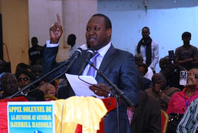 """Djibrill Bassolé sera notre président en 2015"", Adama Kiéma/ Copyright Burkina24"