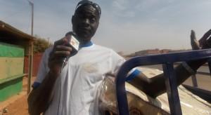 Coulibaly Ousmane, conducteur de tricycle