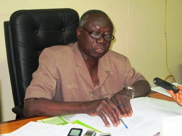 Le Directeur Régional de l'ENSP/Bobo, Daouda Traoré