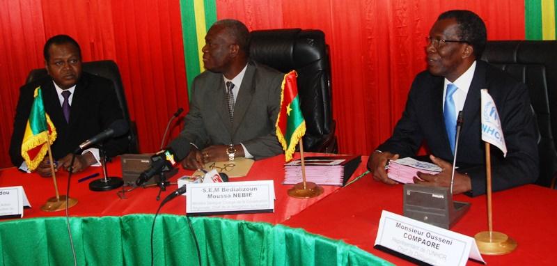 Hamadou Konaté, Moussa B.Nebié et Ousseni Compaoré/ Copyright Burkina24