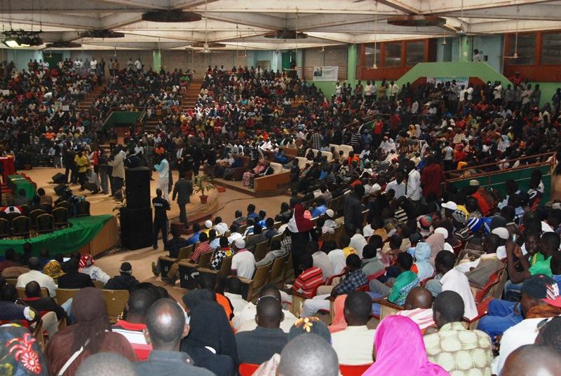 Les sympathisants qui appellent à la candidature de Djibrill Bassolé/ Copyright Burkina24