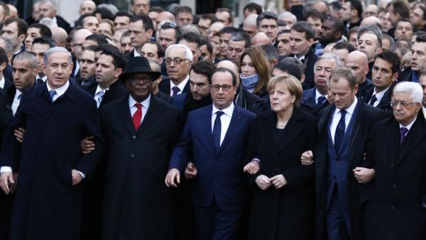 Plusieurs chefs d'Etat ont participé à la marche républicaine