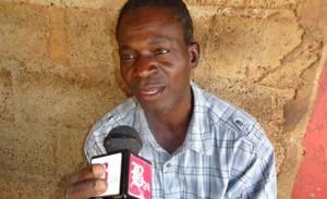Yamba Issa, taximan