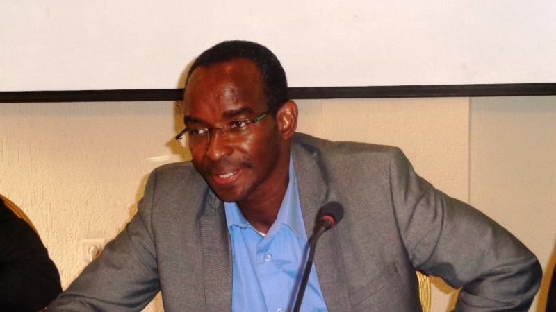 Yves Boukary Traoré, directeur d'Amnesty International Burkina Faso