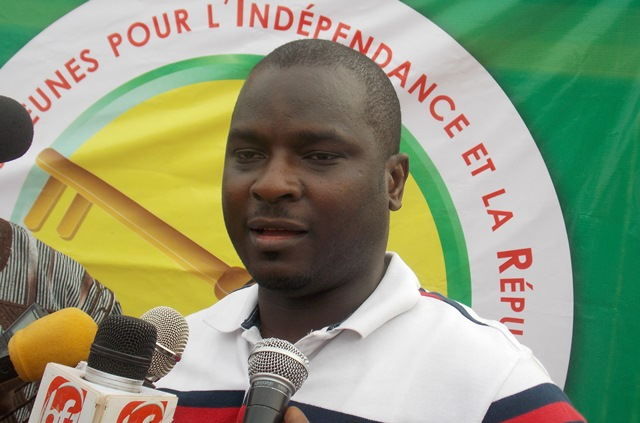 Adama Kanazoé, president de AJIR