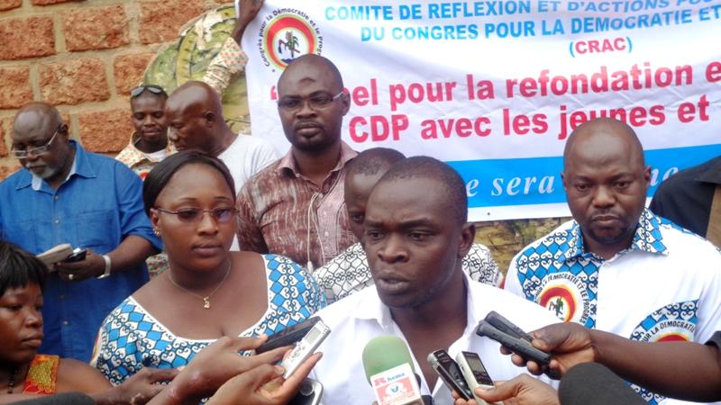 Ali Badra Ouédraogo, le Coordonnateur du CRAC/CDP.