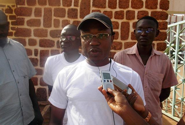 Frederic Zoungrana, coordonateur national du mouvement soyons serieux