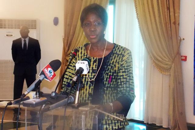Joséphine Ouédraogo, ministre de la justice, des droits humains et de la promotion civique, garde des sceaux et première vice-présidente du CSM