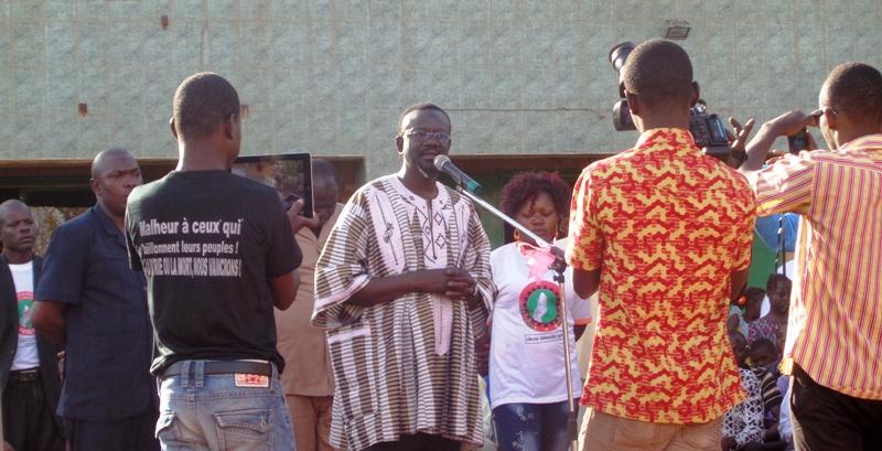 Me Bénéwendé Sankara, Président de l'UNIR-PS, Président du FPS.