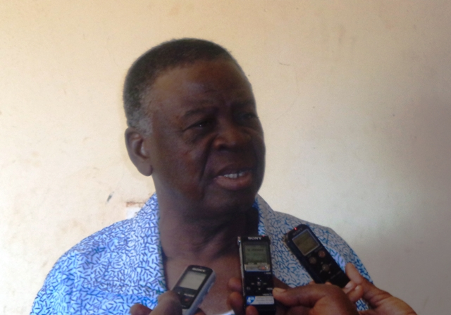 Paul Kaboré, Président du mois des Centrales syndicales.