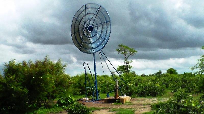 Aperçu d'une Pompe éolienne (pour forage)