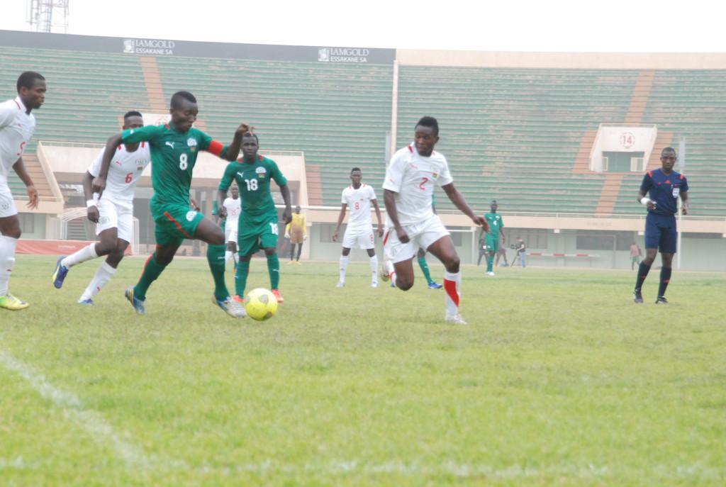 Etalons locaux Etalons U23  Burkina