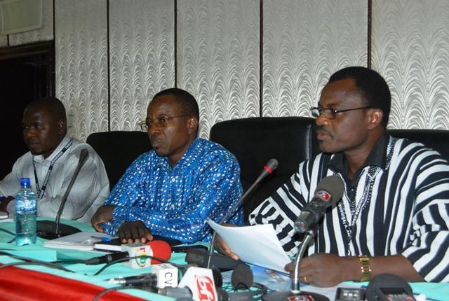Les membres du comité d'organisation du FESPACO  2015 © Burkina24