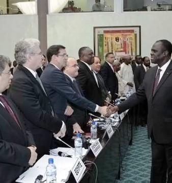 La deuxième réunion du groupe de suivi de la transition au Burkina s'est close sur des recommandations ©Dircom Présidence du Faso