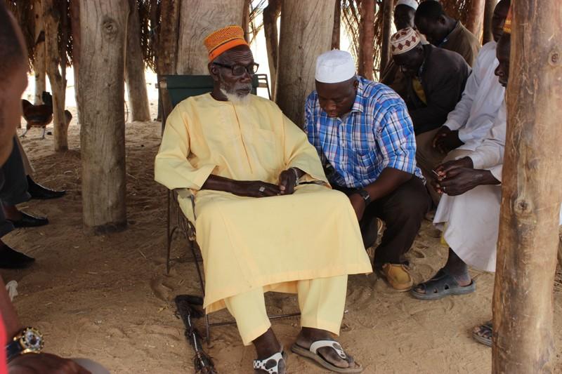 Le chef du village de Bagré veut assez périmètres irrigués pour ses habitants.