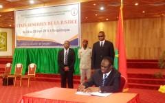 Burkina : Voici l'intégralité du Pacte national pour le renouveau de la justice