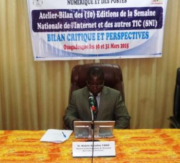 Le ministre du développement de l'économie numérique et des postes a souligné que la SNI est d'abord une manifestation nationale, mais de promotion de l'usage des TIC.