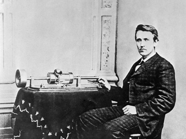 L'inventeur Thomas Alva Edison (1847-1931)( photo AFP)