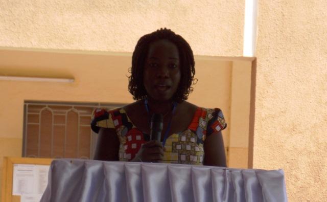Lydie Kantiono, représentante des femmes