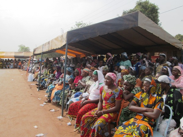 Le meeting du PDC était aussi adressé aux femmes © Burkina24