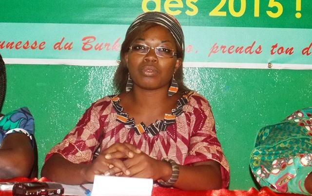 Rose Marie Armelle Sawadogo, présidente de la coordination des femmes du Kadiogo