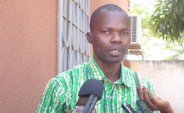 Siaka, Bayoulou, SG du Syndicat national desl agents de la garde de sécurité pénitentiaire