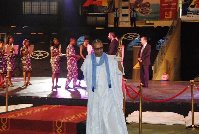 """Abderrahmane Sissako, avec """"Timbukltu"""", a remporté les prix de la meilleure musique et du meilleur son"""