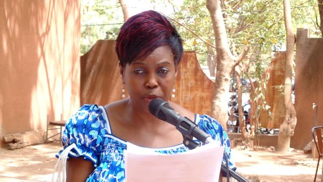 La directrice de l'ISTIC, Aïcha Tamboura  © Burkina24