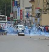 Manifestations à Bujumbura contre un 3e mandat de Pierre Nkurunziza © La Voix de l'Amérique