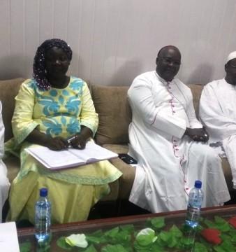 """""""La religion est comme un facteur de ciment social"""", selon Lucienne Zoma, vice-présidente de la Commission de la réconciliation nationale © DR"""
