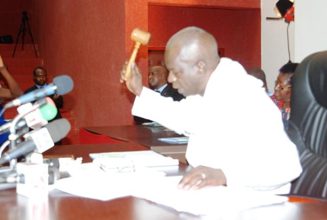 Sheriff Sy,  président du CNT © Burkina24