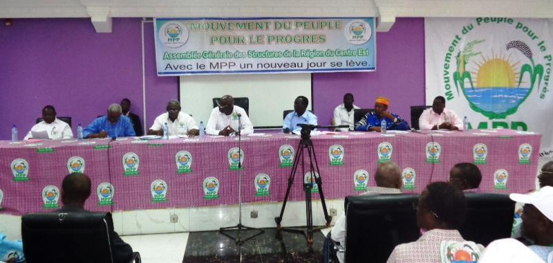 Assemblée générale des structures régionales du MPP, ce samedi 18 avril à Tenkodogo (©Burkina24).