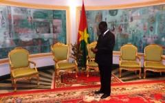 Burkina/France : Michel Kafando à l'Elysée