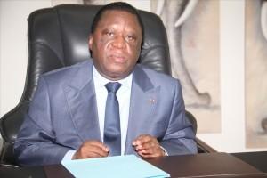 Youssouf Bakayoko, le président de la commission électorale indépendante (CEI) Ivoirienne