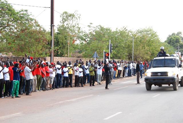 Les forces de l'ordre félicitées pour leur intervention © Burkina24