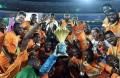 Des joueurs et des membres de l'encadrement de la sélection de Côte d'Ivoire, victorieuse de la dernière CAN réclament leurs primes.