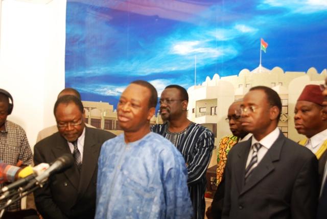 Pour les représentants de l'ancienne opposition, la question de la révision du Code électoral revient en dernier ressort au Conseil national de la transition © Burkina24