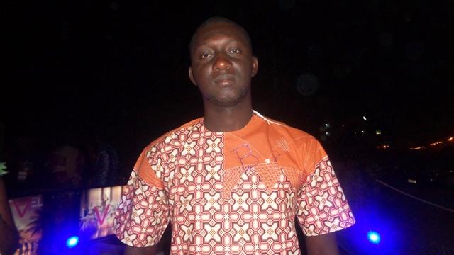 Steeve Kaboré, promoteur de la soirée  © Burkina24
