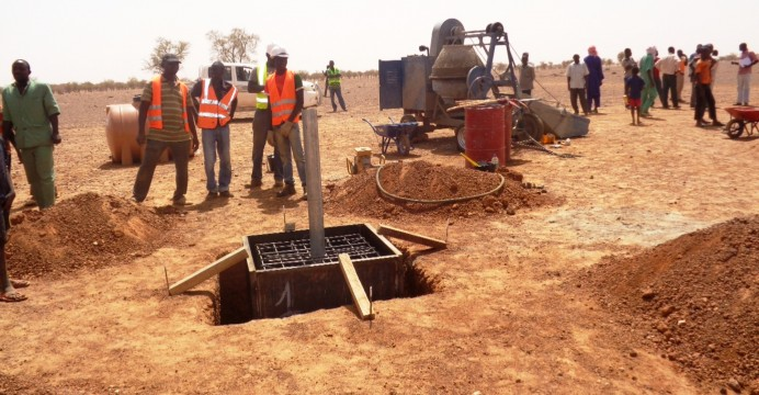 Cérémonie officielle de lancement des travaux de bornage de la Frontière Burkina-Niger (©Burkina24)